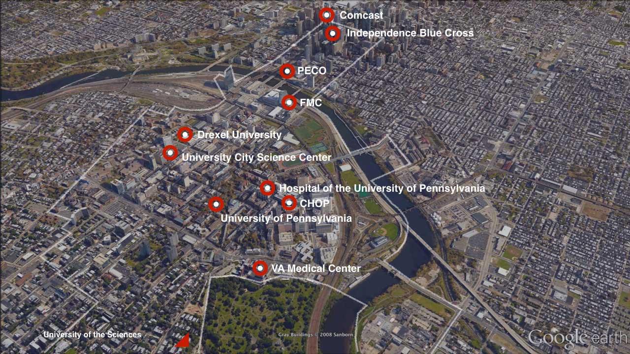 PHL Map
