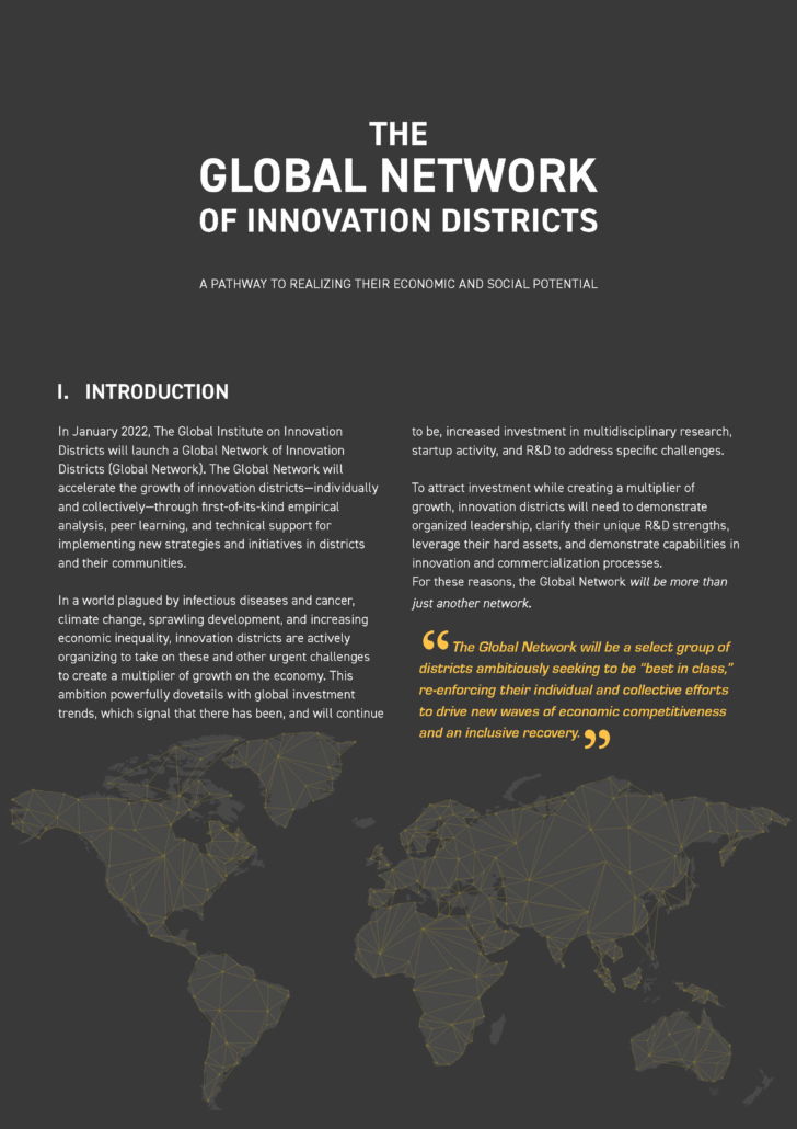 Global Network of Innovation Districts